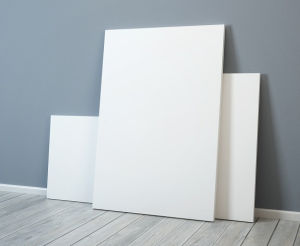 rigid substrates for signs