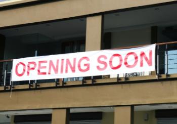 Inkjet Banner on Building